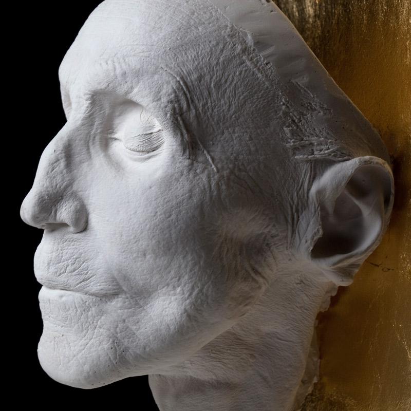 Totenmaske Nahaufnahme
