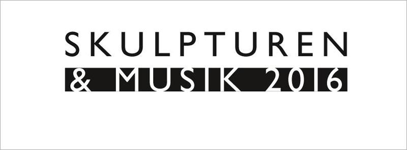 Schriftzug Skulpturen und Musik 2016