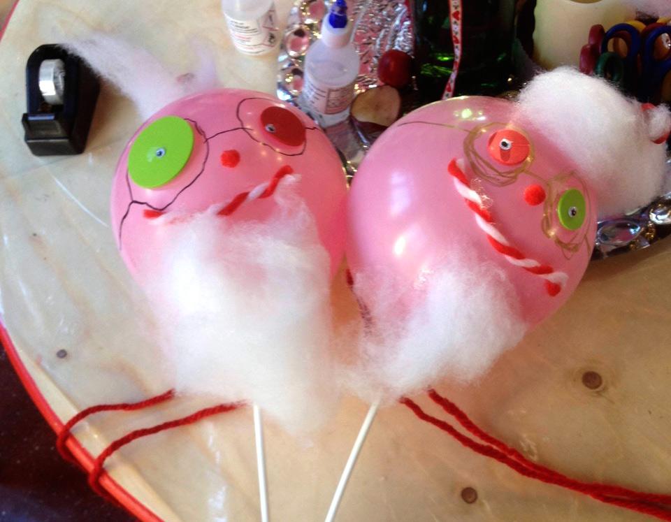 Fotos: Nikolaus-Luftballons