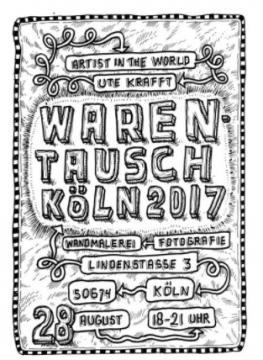Einladungskarte zur Vernissage
