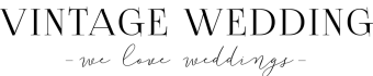 Logo Vintage Weding