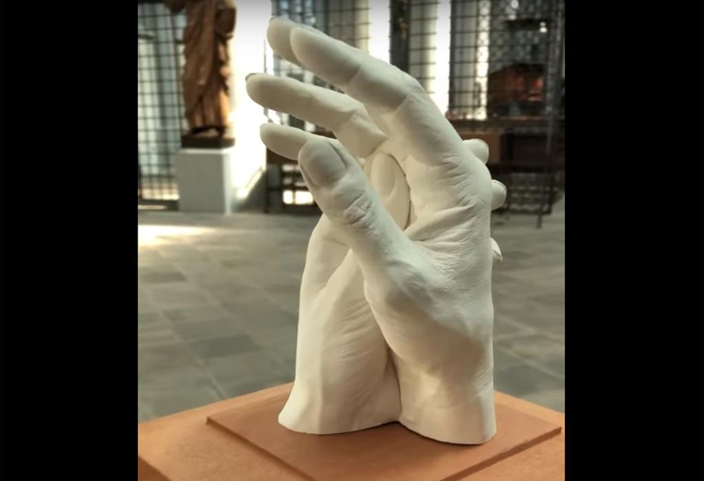 Foto der Skulptur im Dom
